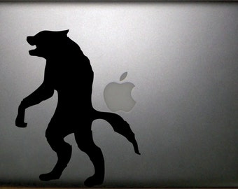 "Werewolf Macbook Pro 13"" Vinyl Decal  FREE SHIPPING"