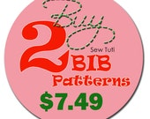 Buy Any 2 Bib Patterns - PDF Patterns
