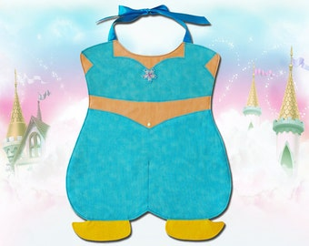 Genie Princess Toddler Bib - PDF Pattern