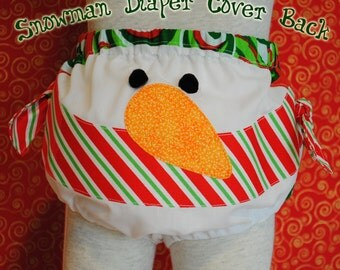Christmas Diaper Cover 2 - Downloadable PDF Pattern