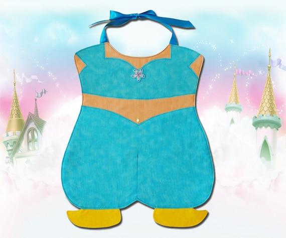 Genie Princess Toddler Bib - PDF Pattern