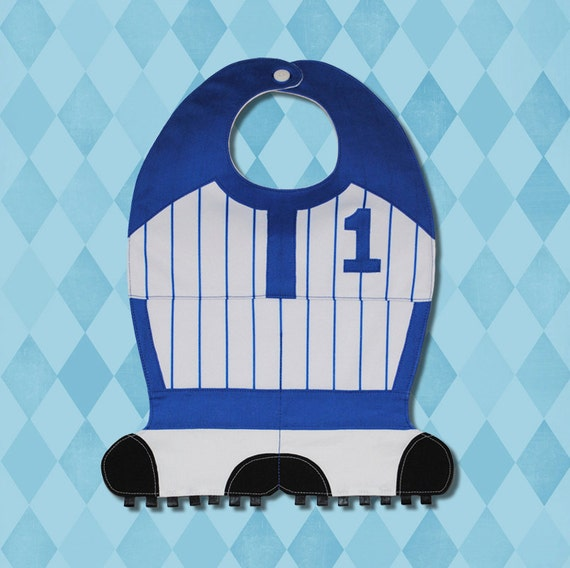 BASEBALL Toddler Bib- PDF Pattern