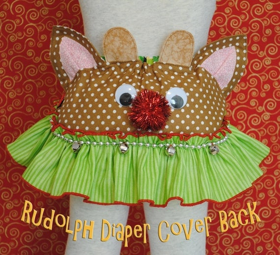 Christmas Diaper Cover - Downloadable PDF Pattern