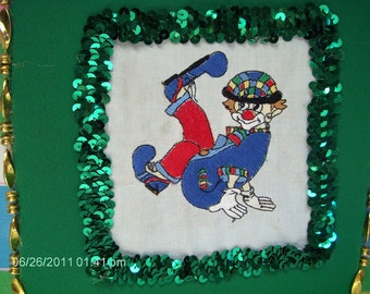 Embroidered Clown Album