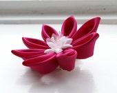 Custom Colour Wedding Fascinator - Custom Colour Hair Flower - Wedding Hair Flower - Choose Colour Headpiece - Women - Hair Accessories