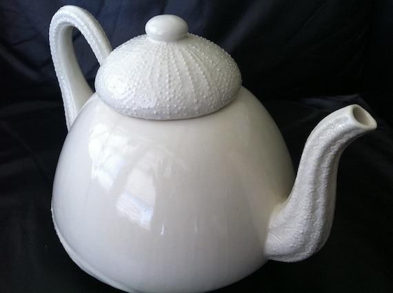 Sea Urchin Porcelain Teapot