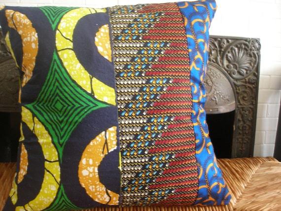 African Wax Print Pillows (Patchwork, Ltd.)