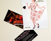 Retro Housewife Cleaning Magnet. 1950's vintage humor. Hire Help for a Spotless House. 4x6 magnet