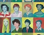 1970s Class - Fine Art Print