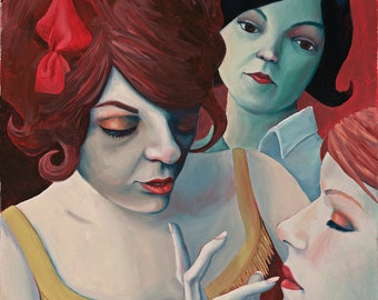 Drama Girls - Fine Art Print