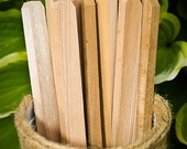 Thick Recycled Cedar Garden Stakes - 10 Pieces