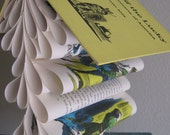 SALE Book Mobile Upcycled from a Vintage Book - Leif the Lucky: Discoverer of America