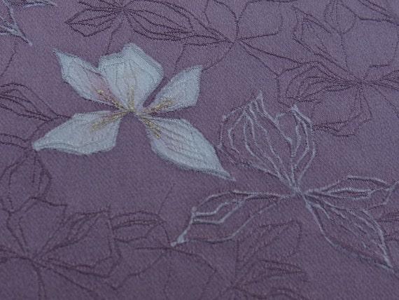Japanese kimono silk, 1970's