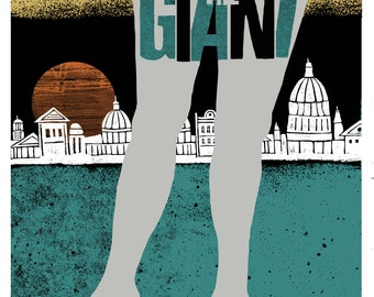 Young The Giant 18 x 24 silk screened poster