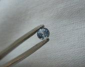 Loose Montana Sapphire White/Blue .29 carat Round