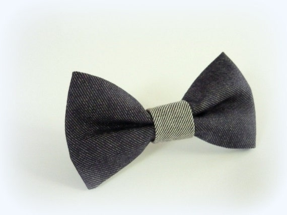 Upcycled Men Tie Bow