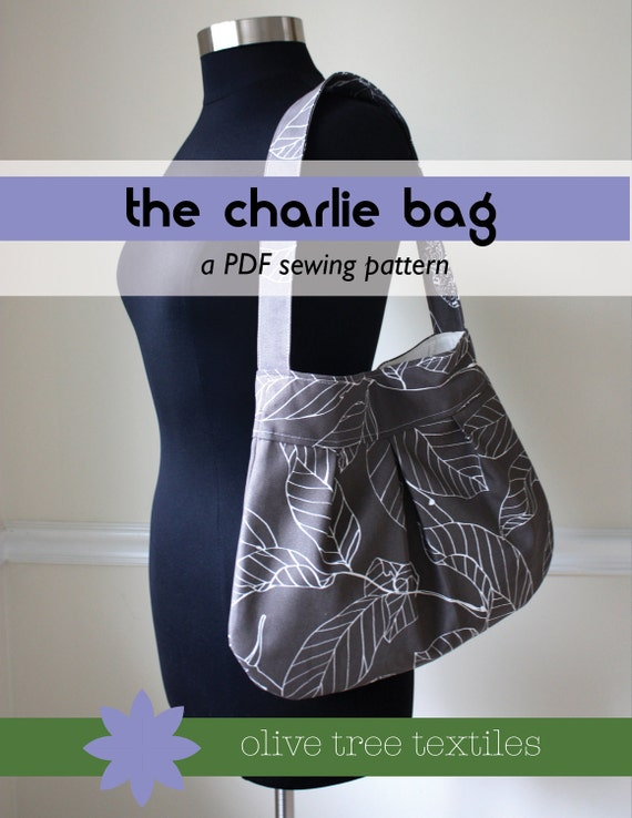 PDF purse pattern // the charlie bag