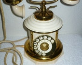 RESERVED . . . Magnificent Vintage EXPOGA DANMARK Danish Porcelain Telephone