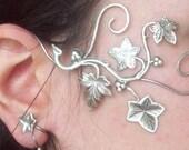 """Elven Earring / Fairy Ear Wrap """"Dreamy Ivy"""""""