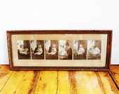 Framed Antique Baby Photos