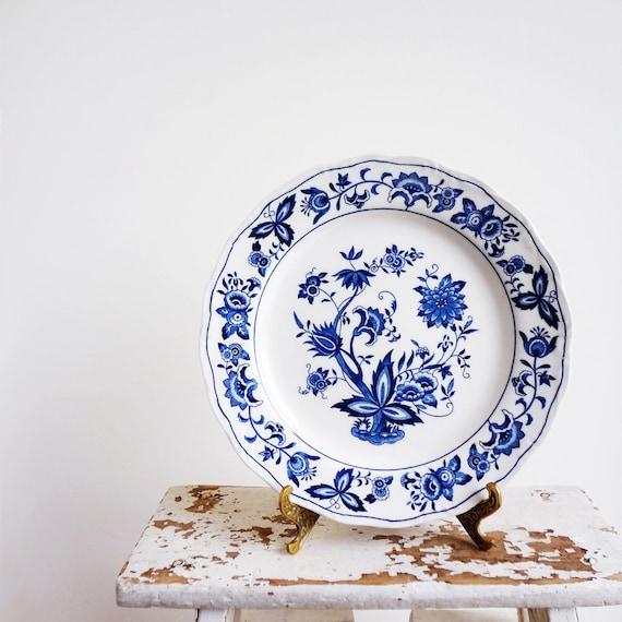 Harmony House Blue Bonnet Dinner Plates