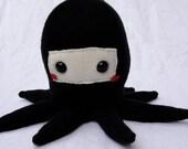 Chibi Ninja Octopus Plushie