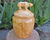 Grizzly Bear Driftwood Honey Pot