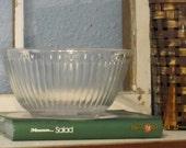 Pyrex Mixing Bowl, Glass Bowl, Serving Bowl