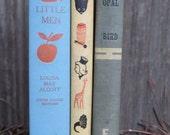 Vintage Children's Books, Lot of 3, Black Opal, Little Men, and Best in Children's Books