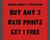 Sale PROMOTION - Buy any 3 8x10 prints and get 1 8x10 Print Free urban city modern