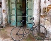 Bicycle photography Bicycle Art cyclist gift fine art photo Open Door photo India art print 11x14