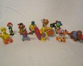 Muppet Figurines, 1990's, Sesame Street, SALE