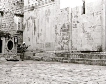 """Trogir, Croatia - """"Guitar"""" - Fine Art, Travel Photography, Various sizes / matted available"""