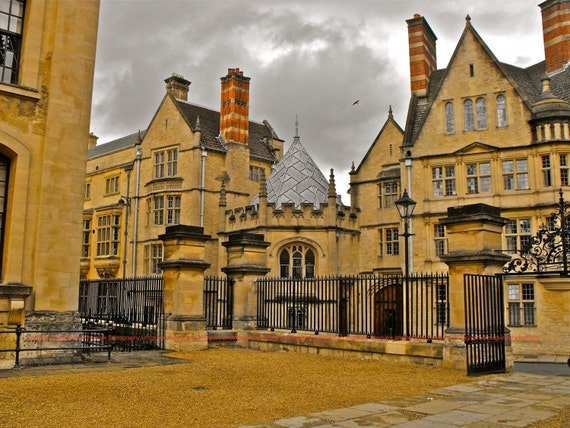 "Oxford, UK - ""Oxford University After the Rain"" - Fine Art, Travel Photography, Various sizes / matted available"
