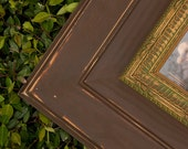 Brown and Gold Shabby Chic 5x7 Picture Frame
