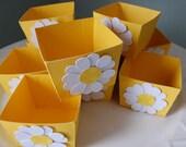 Candy Cups, Nut Cups, Dessert Cups, Shower Favors, Wedding Favors, Birthday Favors, Daisy, Garden, Princess, 12 Pcs