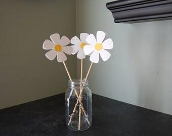 Daisy Centerpieces, 9 Pieces, First Birthday, Daisy Theme, Daisy Birthday