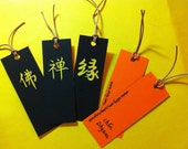 HOT SALE Hand-carved Chinese Character BOOKMARKs 6 dollars EACH