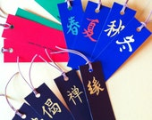 Handmade Asian-Style Bookmarks