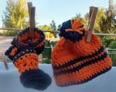 Newborn Hat & Booties set