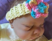 Baby Headband and flowers (PDF file)