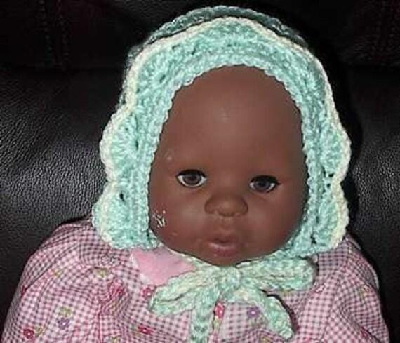 Adorable Baby Bonnet pattern- PDF