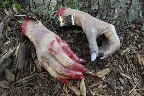 items similar to female zombie walking dead corpse hands