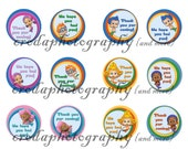 Bubble Guppies Goodie Bag Tags, Thank You Tags, Decorations