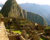 Machu Picchu In The Sun - 8x10 - Fine Travel Photograph