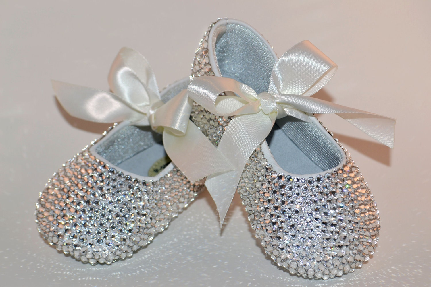 Baby Rhinestone Shoes Swarovski Crystal Baby Shoes by ...