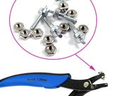 Replacement Pins for Euro-Punch Pliers 1.25mm -5 pins Pliers Not Included