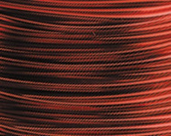 ARTISTIC WIRE RED 14 Gauge 10 Ft for use with Olympus WigJig or Wire Bending Tools (A 3.4)