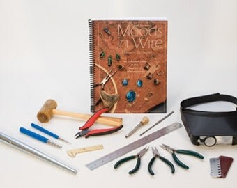 Advanced WIRE WRAPPING Tool Kit - All You Need to Start Wire Wrapping - Metal Working Jewelry Tool - KIT-500.00