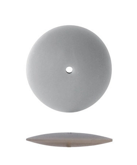 PUMICE WHEEL Polishers - Knife Edge - Fine - 1 Dozen Safe for Synthetic - Precious Stones - Metal Working Jewelry Tool